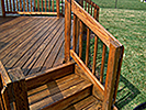 Deck refinishing by Hays Painting