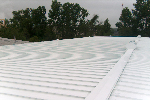 New UV Reflective roof coating by Hays Painting