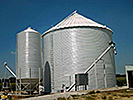 Metal Roof Refinishing for Silos